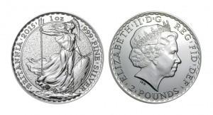 ブリタニア 銀貨