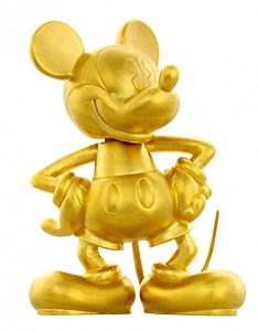 純金_ミッキーマウス