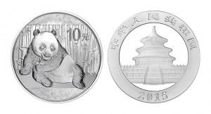 パンダ 銀貨